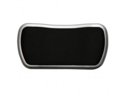 Podložka pod zápěstí GEL jezdící černo-stříbrná