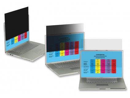"""LG Černý privátní filtr na LCD 23"""" widescreen 16:9 (PF23.0W9)"""