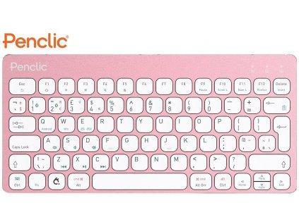 klavesnice-k-tabletu-penclic-wireless-kb3-us-bluetooth-pink-2059