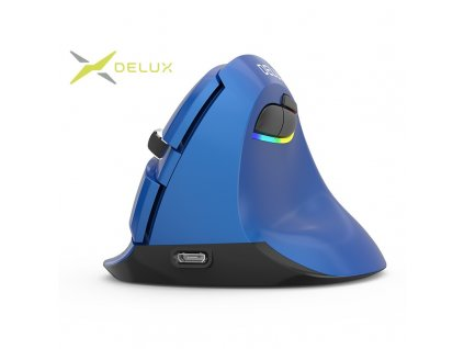 Delux M618mini Wireless mouse pearl-like blue (M618MP)
