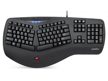 ergonomicka-klavesnice-perixx-506-ii-s-trackballem-2x-usb-cerna