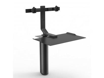 vyskove-nastavitelny-stul-quickstand-under-desk-cerny-pro-dva-monitory-qsubfdb