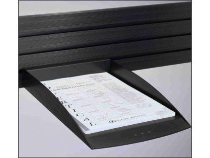 Humanscale police na dokumenty A4 černá (A11003B)