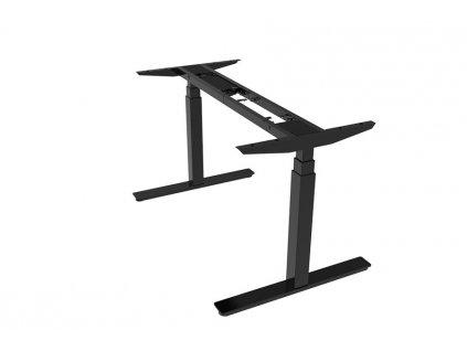 ERGO motion výškově stavitelné elektrické podnoží 120 až 200 cm černá