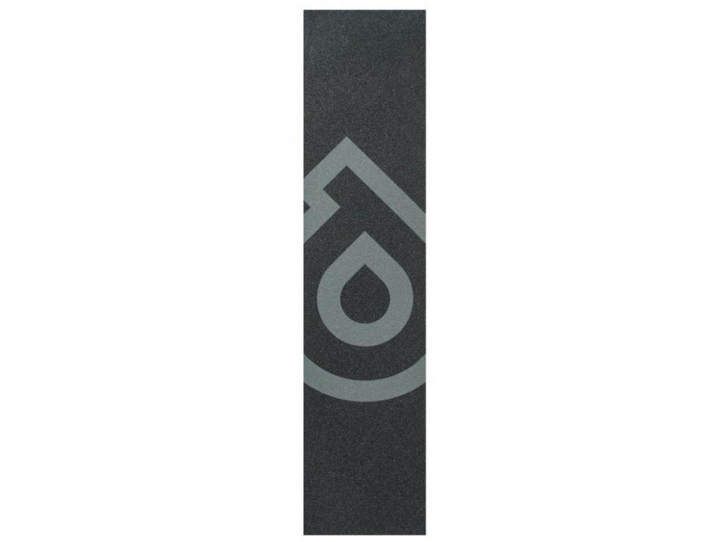 District S-Series Griptape Logo Grey