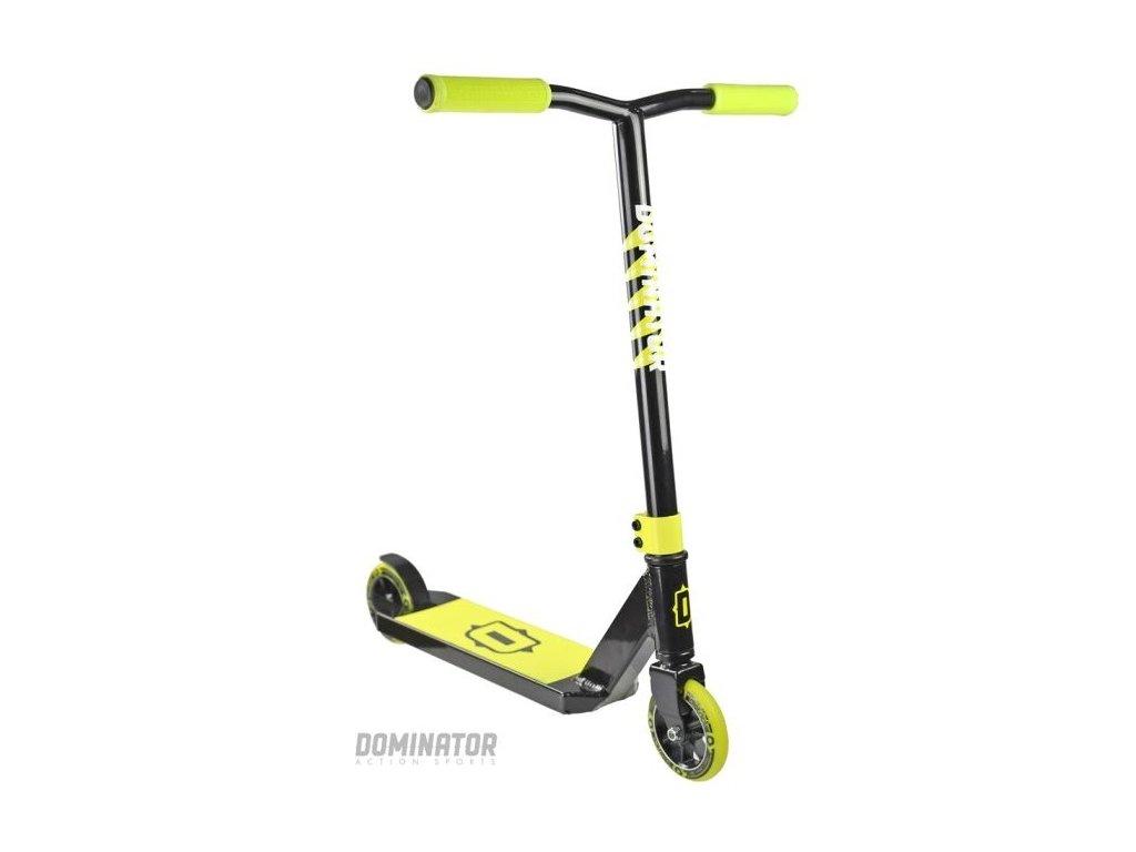 Freestyle kolobežka Dominator Trooper Black Yellow