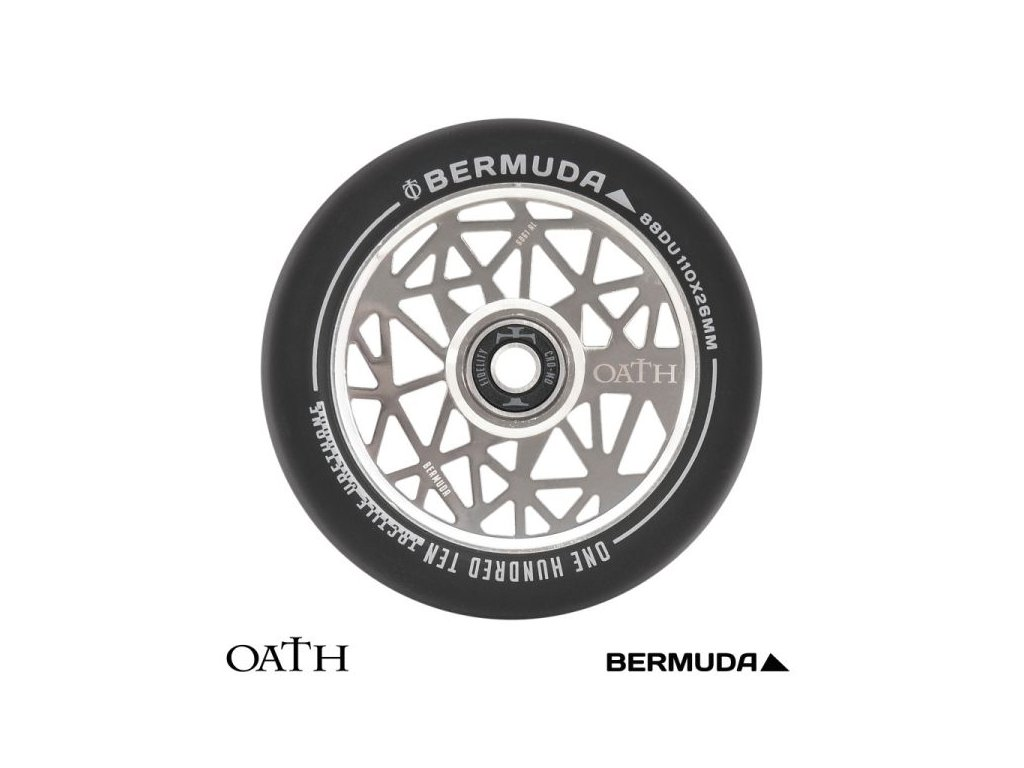 Koliesko Oath Bermuda 110 Wheel Black