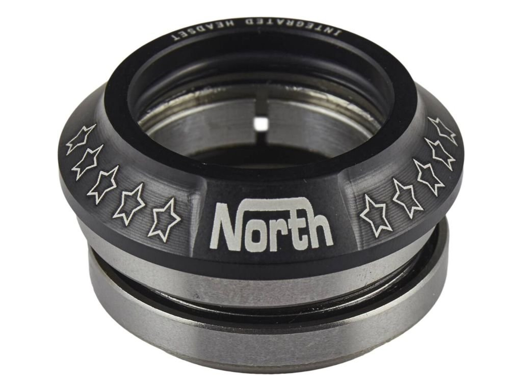 North Integrated Headset Black