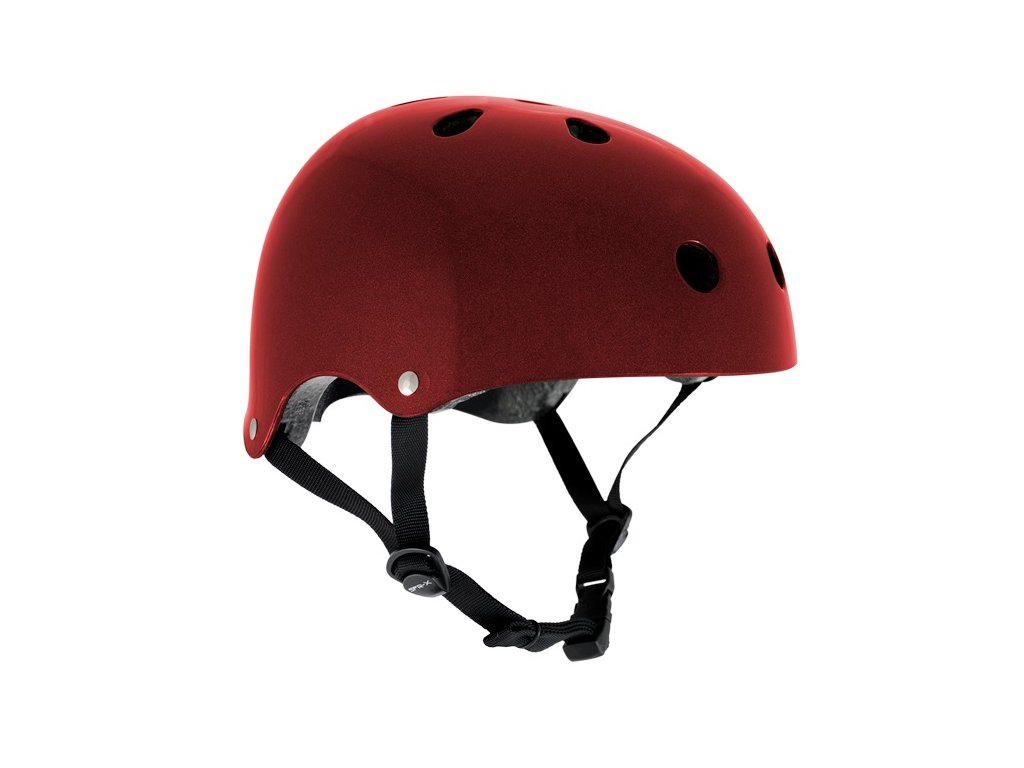 SFR Essentials Metallic Red Helmet S/M