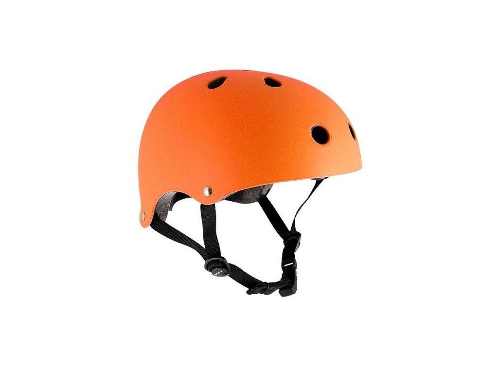 SFR Essentials Orange Helmet S/M