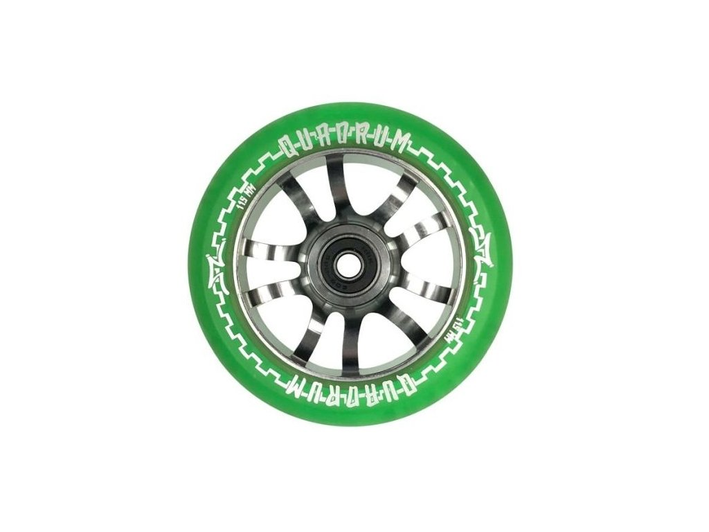 Koliesko AO Quadrum Clear 115 Green