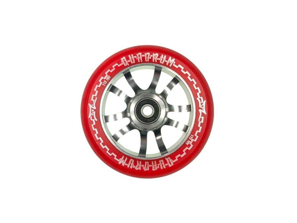 Koliesko AO Quadrum Clear 115 Red