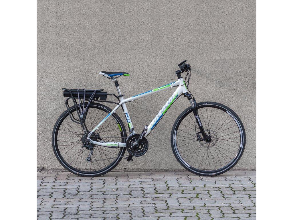 "Elektrobicykel krosový Apache Matto Disc 28"" Alivio/Deore-přestavba na elektro, 19"""
