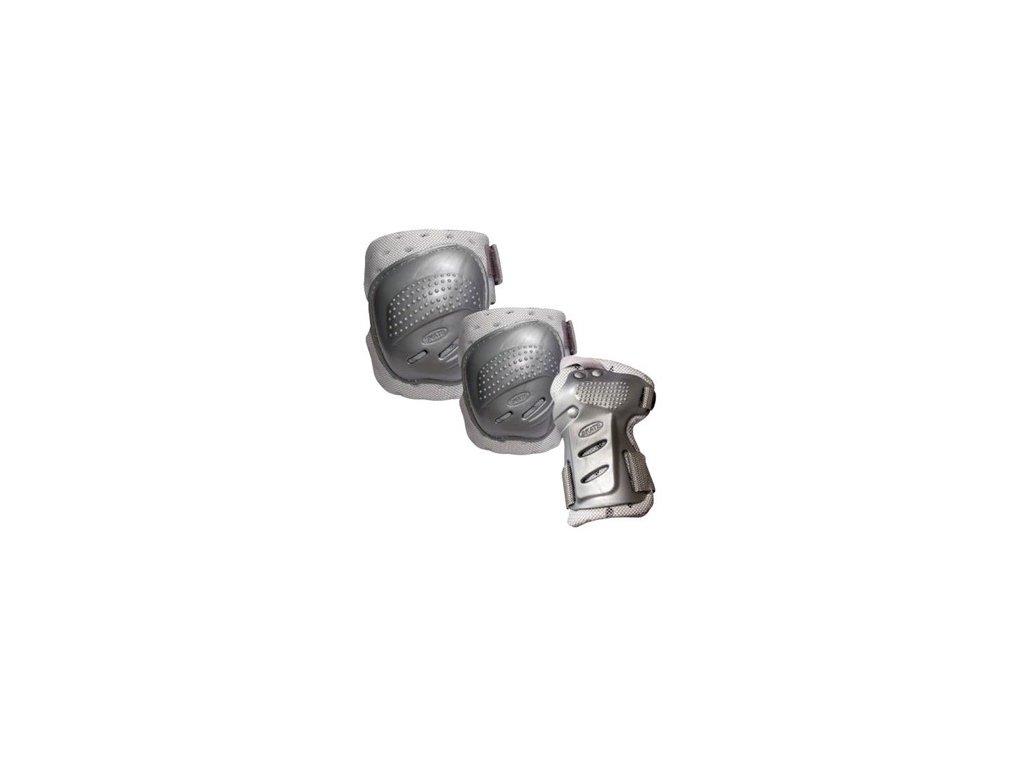 COOL MAX 3 sada chráničov kolien, lakťov a zápästí XL