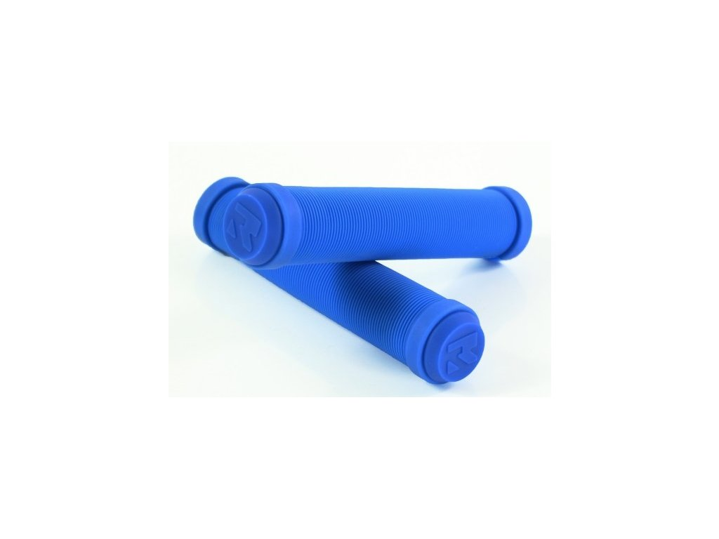 root industries premium grips blue