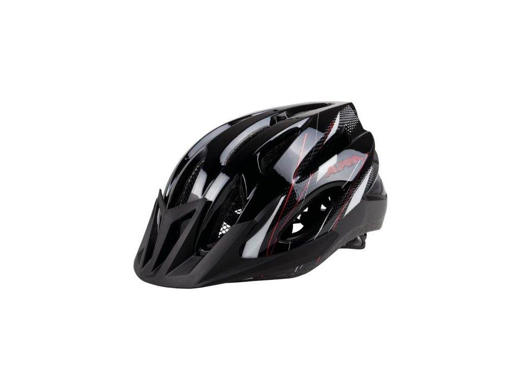 cyklisticka prilba alpina mtb 17 cierno bielo cervenavel l black white red
