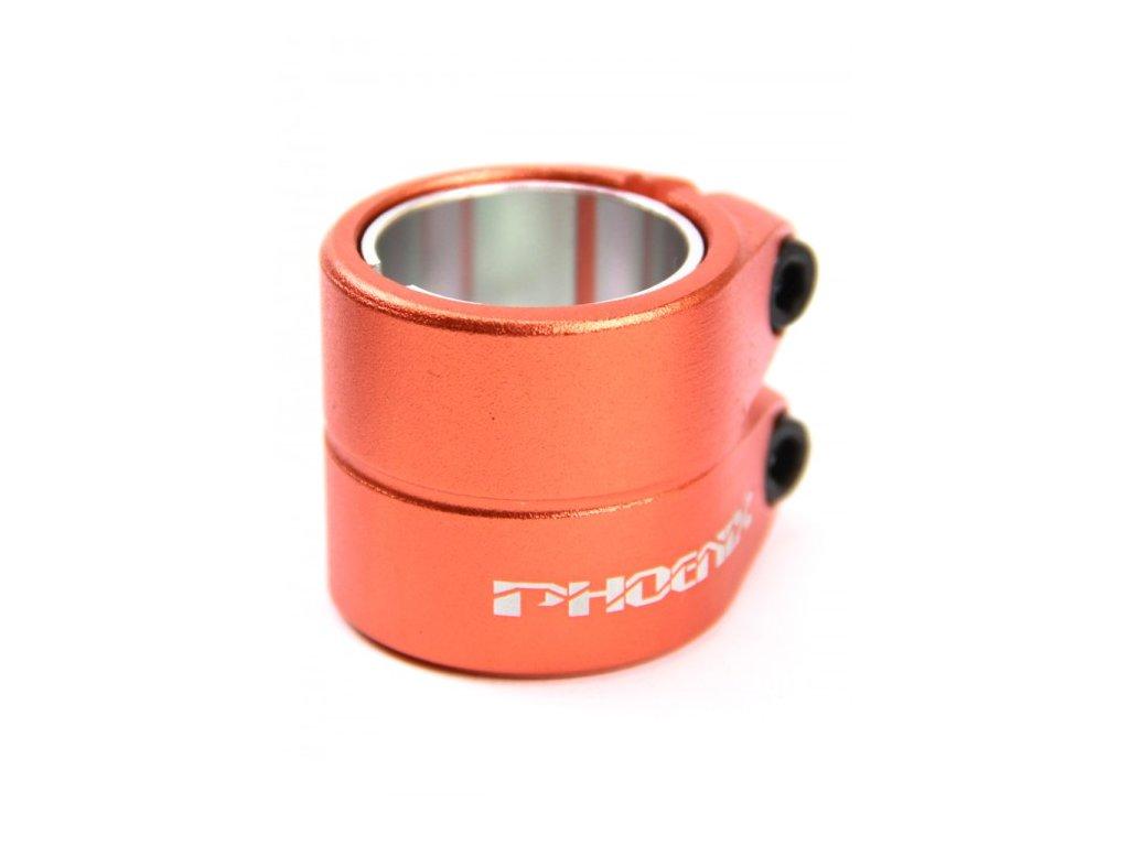 vyr 2283phoenix smooth double clamp orange