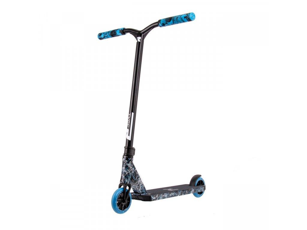 Freestyle kolobežka Root Type R Pro Scooter (Black/Blue/White)