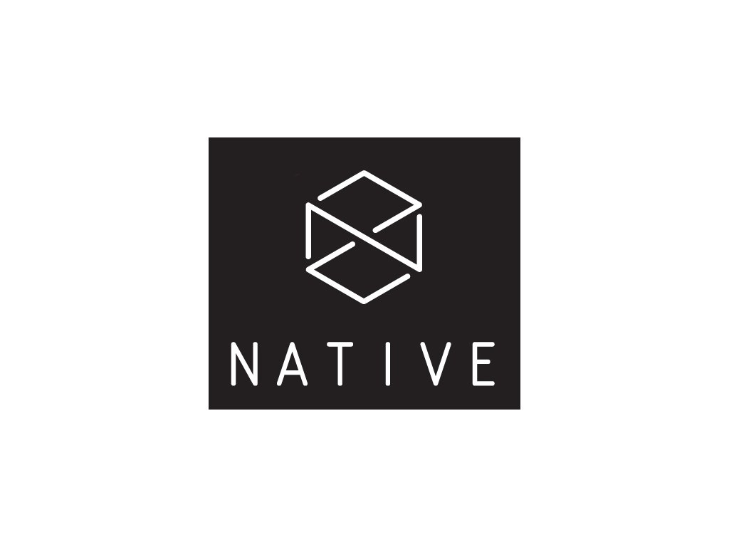 native logo scooter sticker