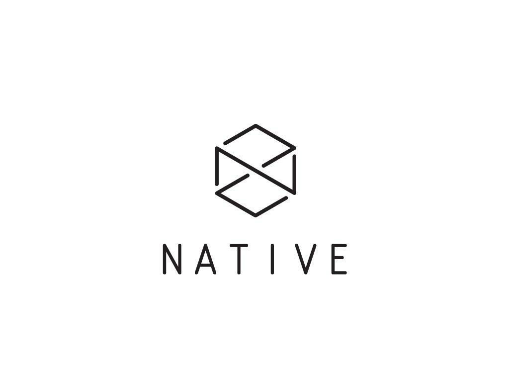 native logo scooter sticker x1