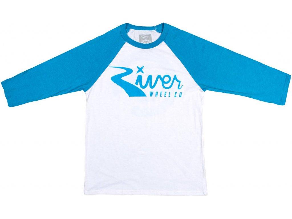 River Classic Logo 3 4 Sleeve Shirt