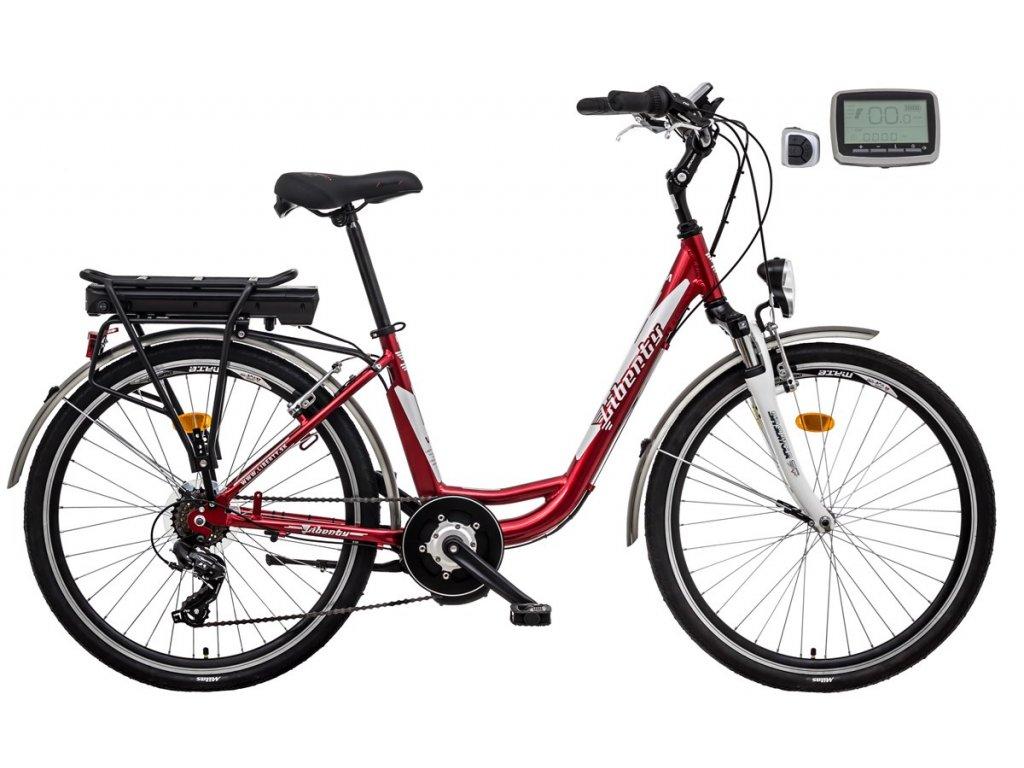 Liberty mestský elektrobicykel e - VIA BB 6spd