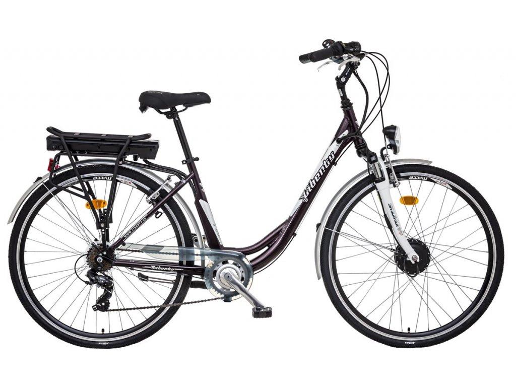 Liberty mestský elektrobicykel e - STRADA 6spd