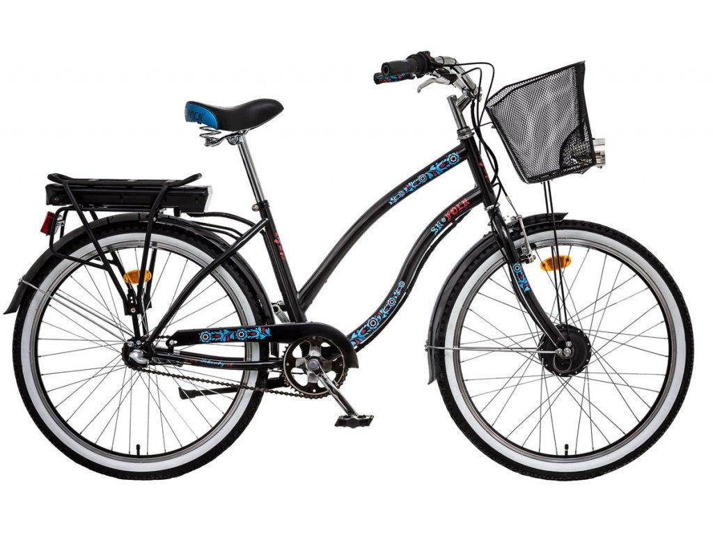 Liberty mestský elektrobicykel e-FOLK 3spd