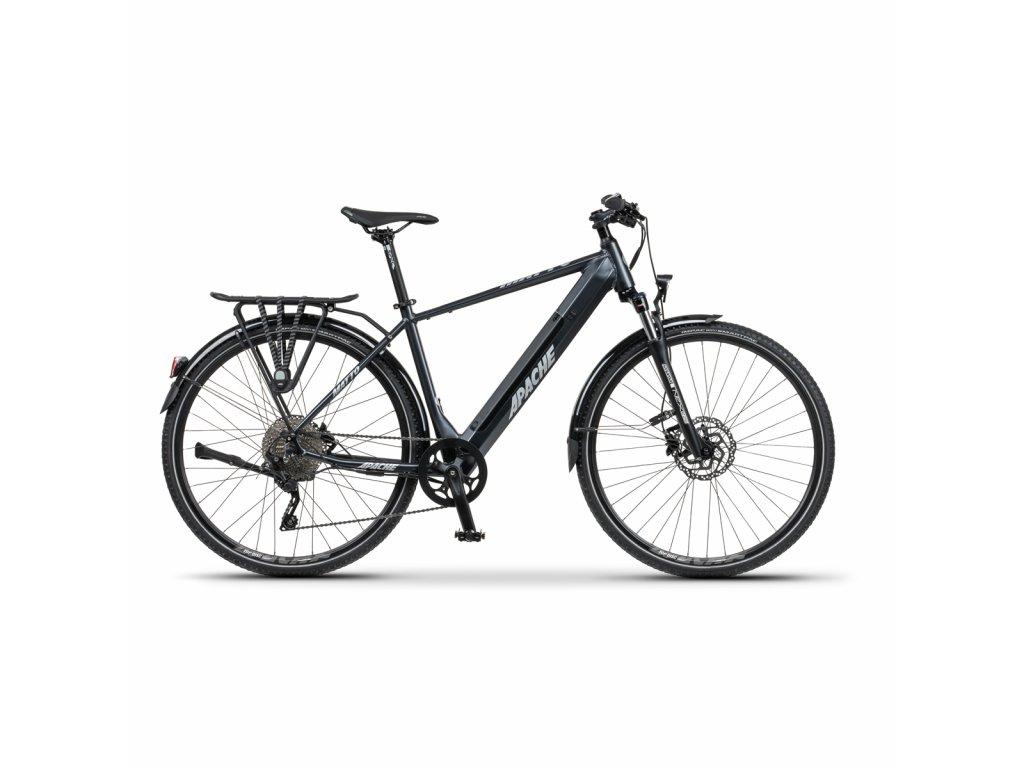 "Elektrobicykel krosový Apache Matto Tour E5 dark gray, 21"""