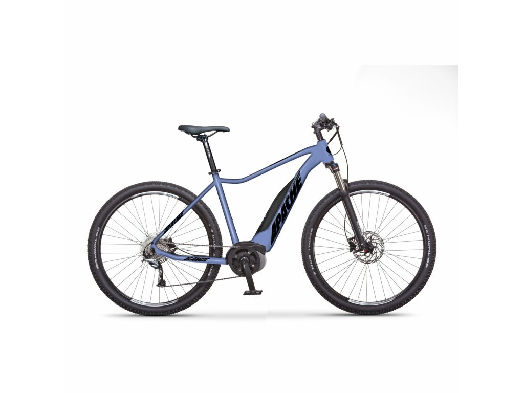 "Elektrobicykel MTB 29"" Apache Hawk Bosch Active Plus blue, 19,5"""