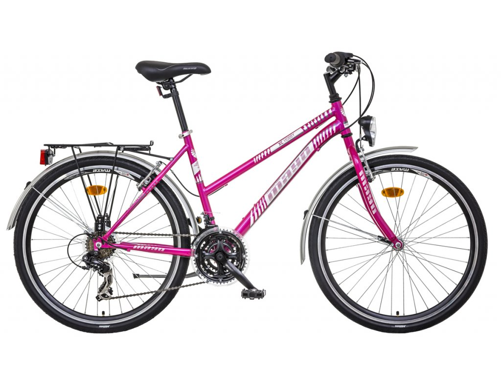 Mayo dámsky horský bicykel XC HOBBY LADY CITY
