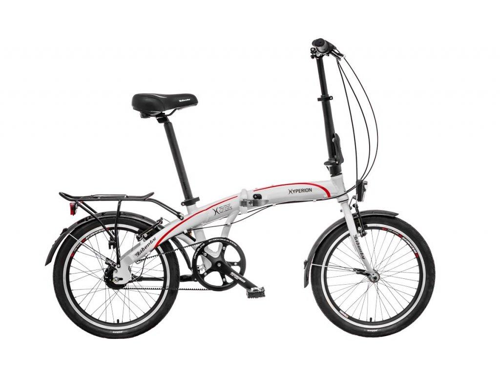 Liberty skladací bicykel HYPERION NEXUS 7spd BELT