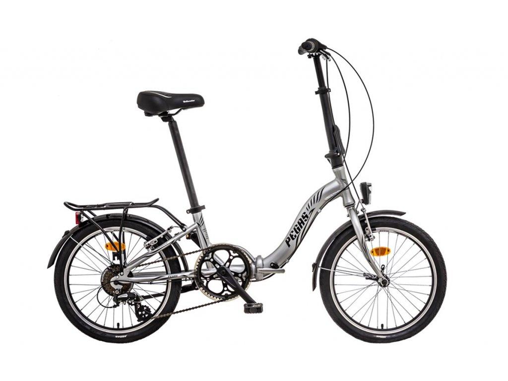 Liberty skladací bicykel PEGAS 7spd