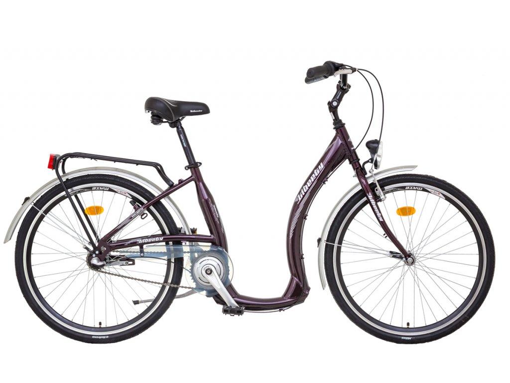 Liberty mestský bicykel COMFY AL 3spd NEXUS