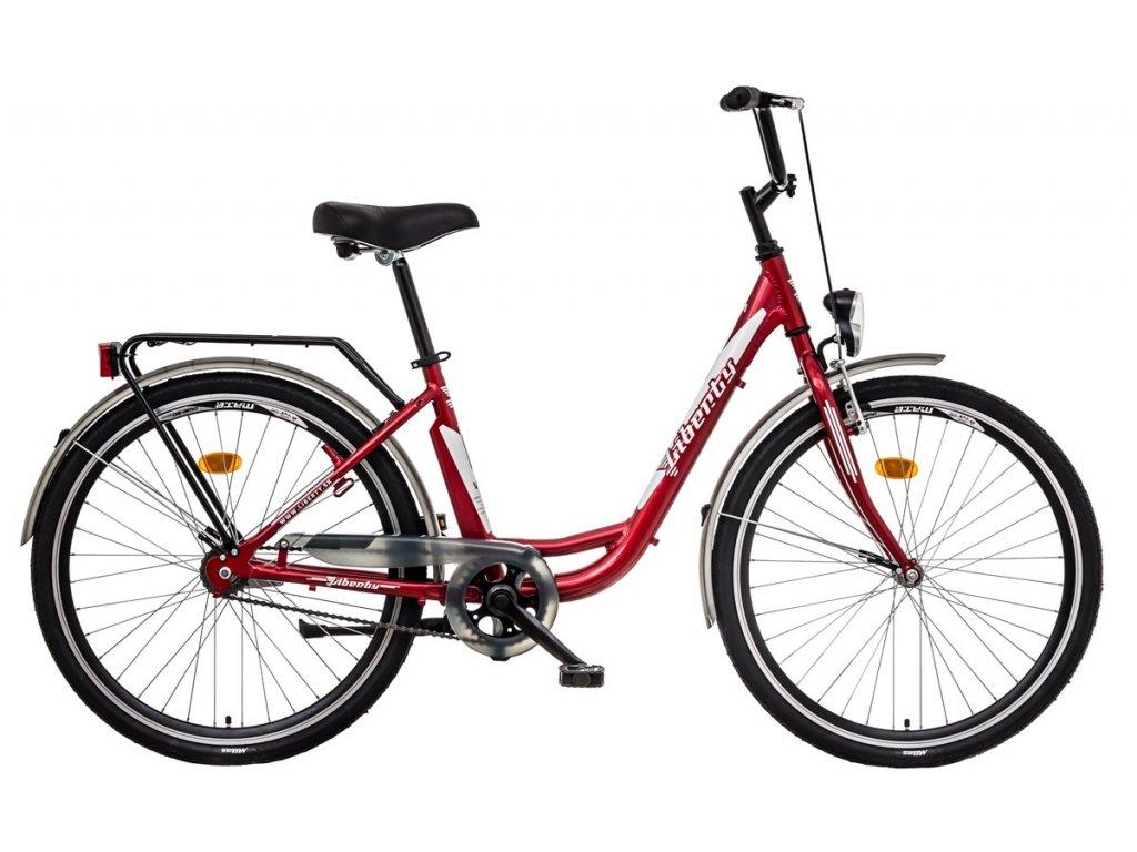 Liberty mestský bicykel VIA 1spd