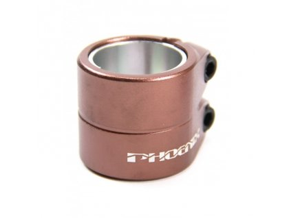 vyr 2284phoenix smooth double clamp bronze