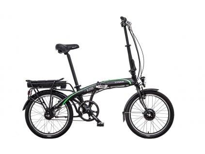"""Skladací elektrobicykel Liberty e-HYPERION NEXUS 7spd BELT 11"""", 20"""" 2020"""