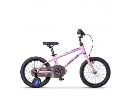 """Bicykel detské 16"""" Apache Ciquala růžová"""