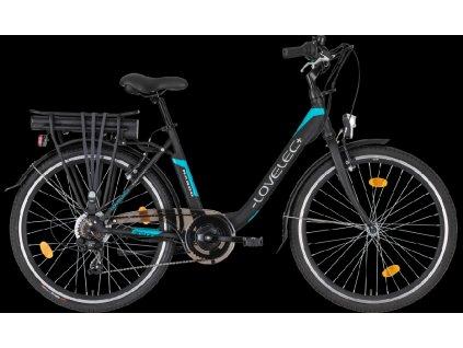 LOVELEC Nardo Black/Blue Baterie 8,8 Ah až 80 km