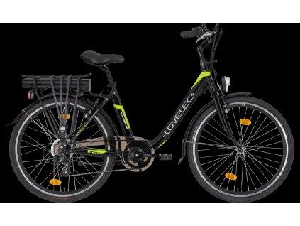 LOVELEC Nardo Black/Green Baterie 8,8 Ah až 80 km