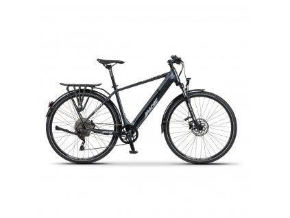 "Elektrobicykel krosový Apache Matto Tour E5 dark gray, 19"""