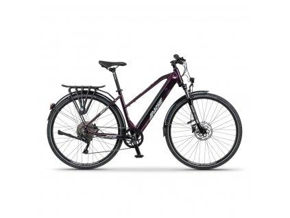 "Elektrobicykel krosový Apache Matta Tour E5 dark purple, 18"""