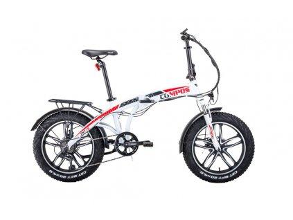 HECHT COMPOS XL WHITE - elektrobicykel