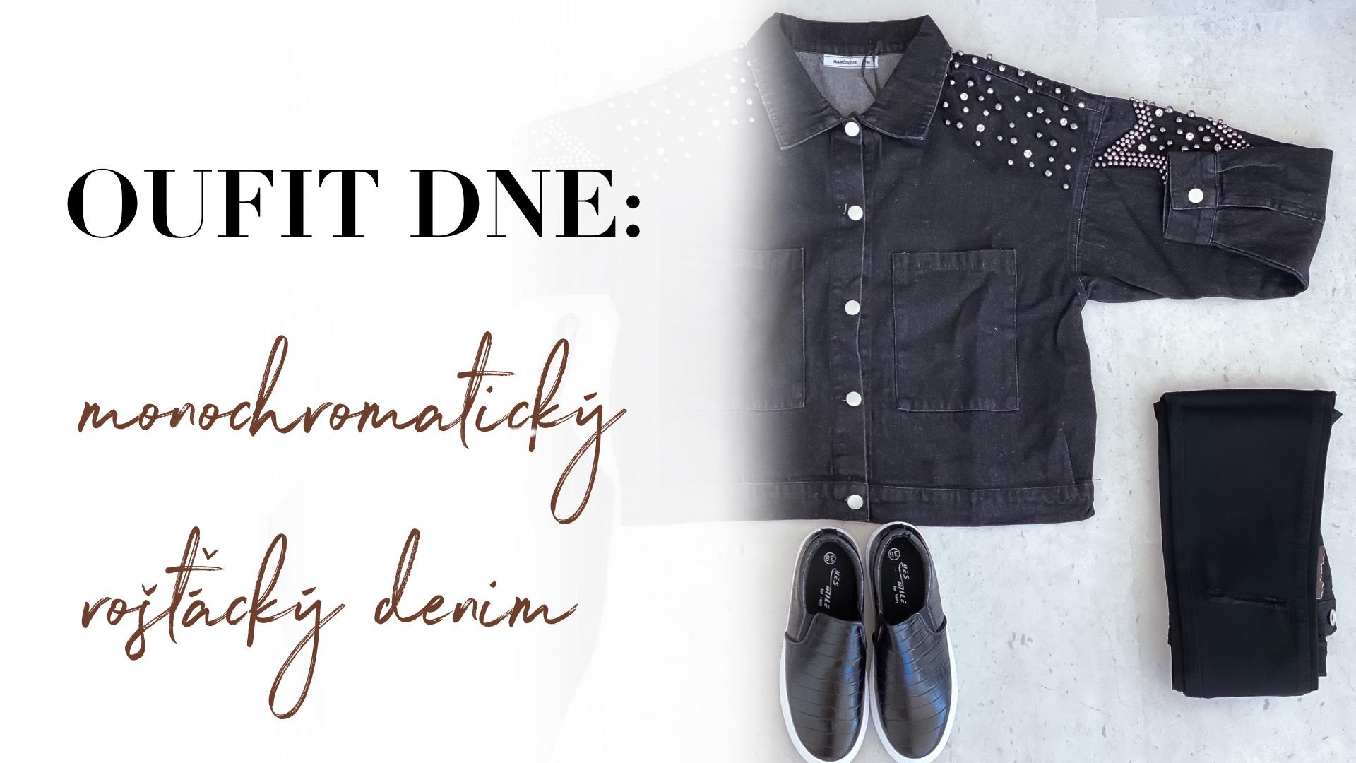 Outfit dne: monochromatický rošťácký denim