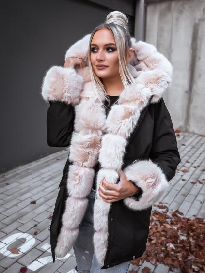 Bunda Atalia/black-beige