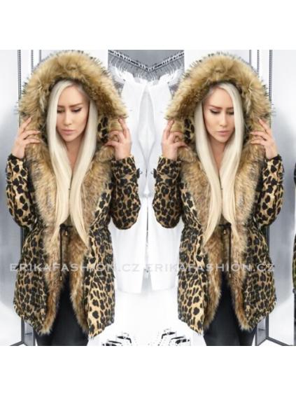 Parka Leopard Elegance