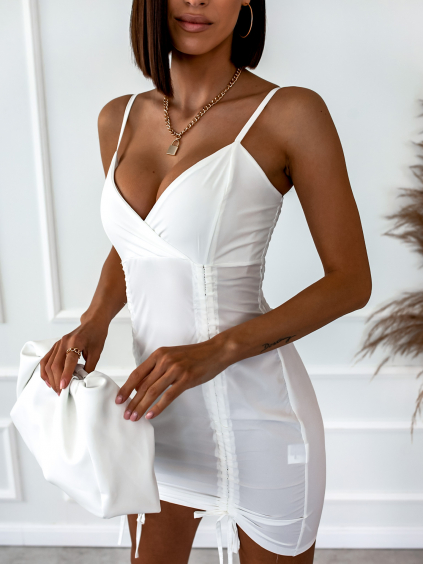 Bílé šaty SAINT