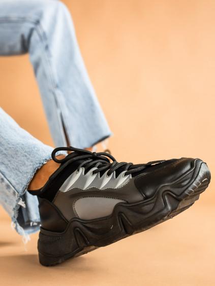 Černé tenisky SLAID