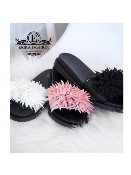 Pantofle Flowers