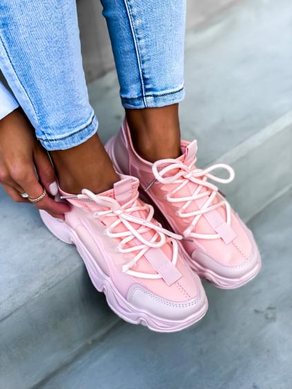 Růžové tenisky SLAID